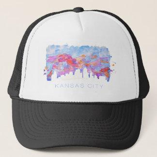 Kansas City horisontvattenfärg Keps