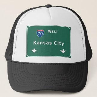 Kansas City KC Missouri Interstate Truckerkeps
