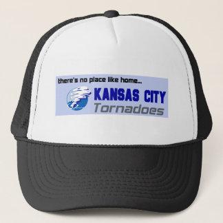 Kansas City tornadon Truckerkeps