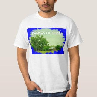 Kansas GAMMAL ladugårdT-tröja T-shirt