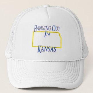 Kansas - hänga ut truckerkeps