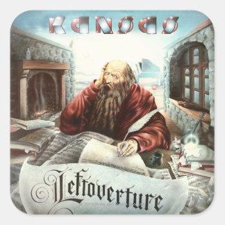 KANSAS - Leftoverture (1976) Fyrkantigt Klistermärke