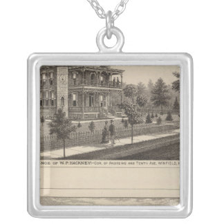 Kansas Silverpläterat Halsband