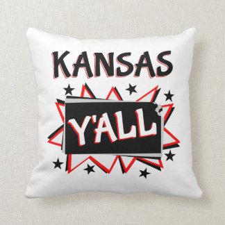 Kansas statlig pride dig prydnadskudde