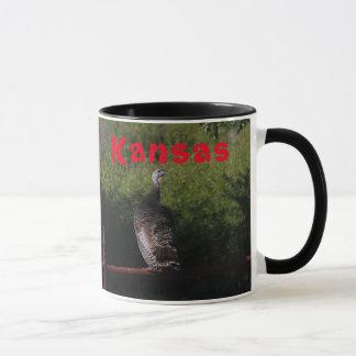 Kansas Turkiet som jagar kaffemuggen