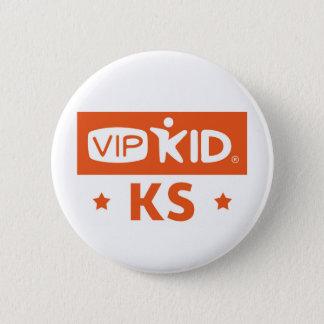 Kansas VIPKID knäppas Standard Knapp Rund 5.7 Cm