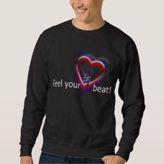 Känselförnimmelse ditt hjärtslag! - Tröja