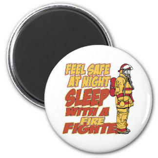 Känselförnimmelsekassaskåp, sömn med en brandman magnet
