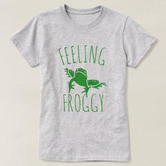 Känslig Froggy Tröjor