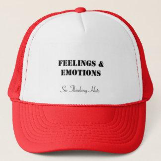 Känslor & känslor, sex tänkande hattar truckerkeps