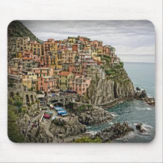 Kant av italien - Manarola - Mousepad Musmatta
