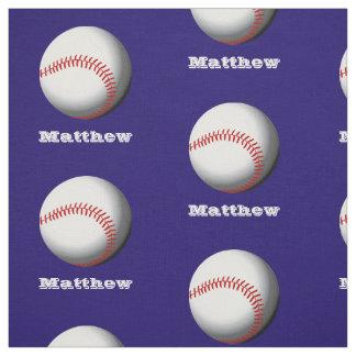 Känt baseballmönster för personlig tyg