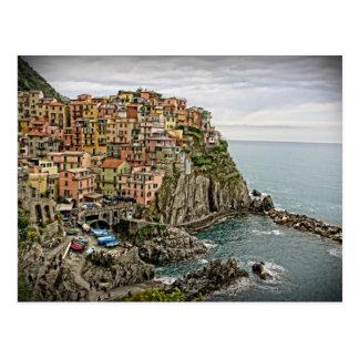 Kanten av italien - Manarola - Cinque Terre Vykort