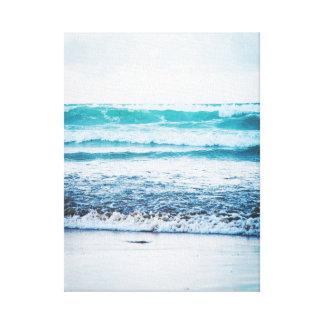 Kanvastryck för fotografi för version 3 för hav