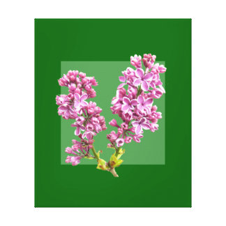 Kanvastryck - lilor