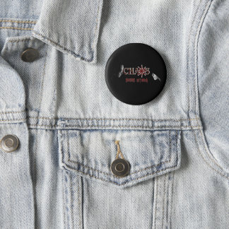 Kaosdobbel knyter kontakt knäppas standard knapp rund 5.7 cm