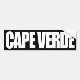 Kap Verde Bildekal
