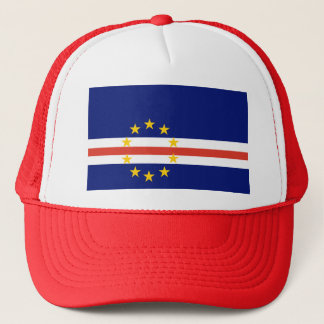 Kap Verde flagga Truckerkeps