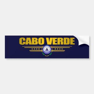 Kap Verde pride Bildekal