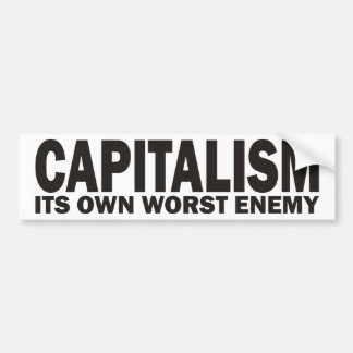 Kapitalism Bildekal