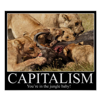 Kapitalism Demotivational Poster
