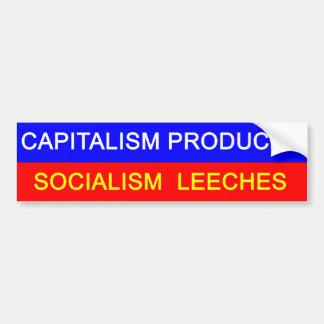Kapitalism vs Socialism Bildekal