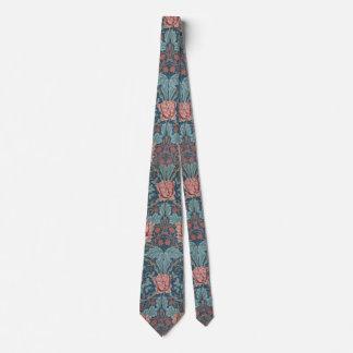Kaprifolen av William Morris, vintage blommar Slips