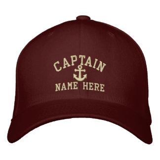 Kapten - anpassade broderad keps