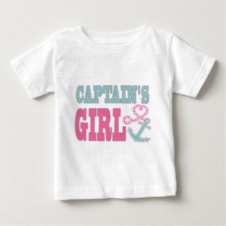 Kapten flicka ankrar och hjärta tröja
