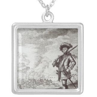 Kapten Henry Morgan på säcken Silverpläterat Halsband