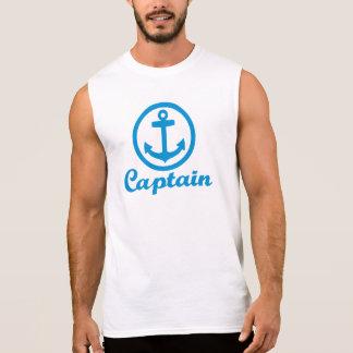 Kaptenen ankrar sleeveless tees