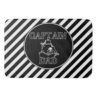 Kaptenpappa - spöklik spansk gallionbadmatta badrumsmatta