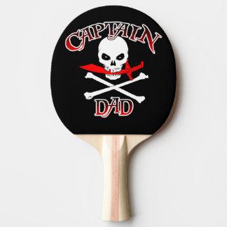 Kaptenpappapingen Pong paddlar Pingisracket