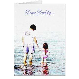 Kära Pappa… Hälsningskort