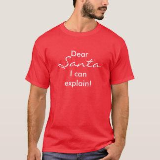 Kära Santa, kan jag förklara! Tee
