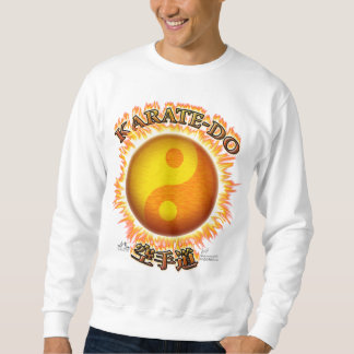 Karate-bekläda sweatshirts sweatshirt