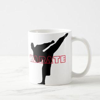 Karatekaffemugg Vit Mugg