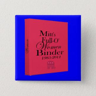 Karda limbindningfullt av kvinnalimbindningen standard kanpp fyrkantig 5.1 cm