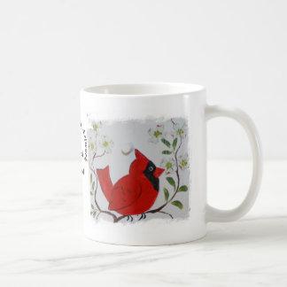 Kardinal & Dogwood Kaffemugg