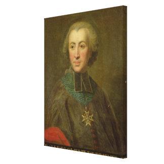 Kardinal Etienne-Charles de Lomenie de Brienne Canvastryck