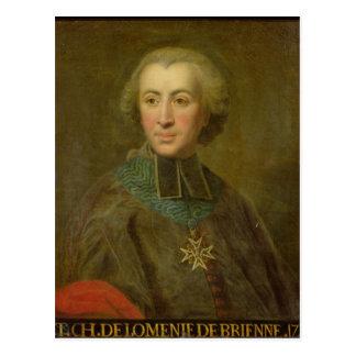 Kardinal Etienne-Charles de Lomenie de Brienne Vykort