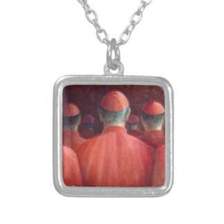 Kardinaler 2005 silverpläterat halsband