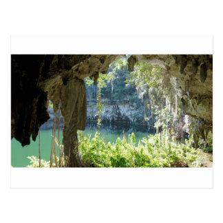 karibisk grotta vykort