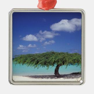 Karibiskt Aruba. Örnstrand Julgransprydnad Metall