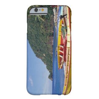 Karibiskt BWI, St Lucia, segelbåtar, Soufriere. Barely There iPhone 6 Fodral