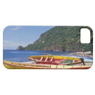 Karibiskt BWI, St Lucia, segelbåtar, Soufriere. iPhone 5 Fodral