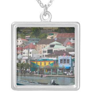 Karibiskt GRENADA, St George, St George Silverpläterat Halsband