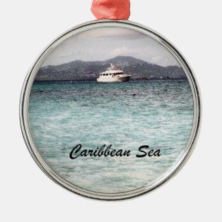 Karibiskt hav julgransprydnad metall