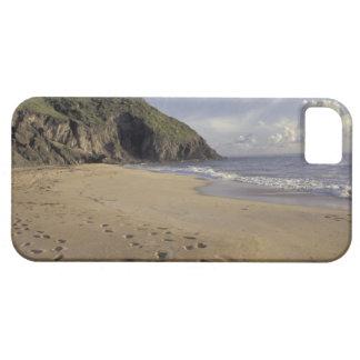 Karibiskt St. Kitts. Fotspår på Atlanten iPhone 5 Hud