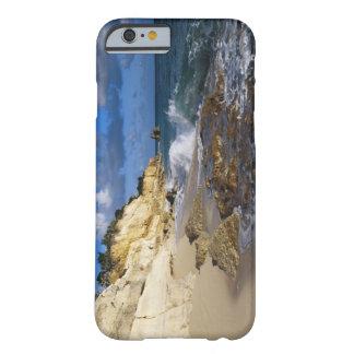 Karibiskt St Martin, klippor på Cupecoy sätta på Barely There iPhone 6 Fodral